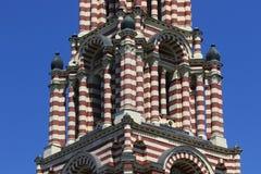 Πύργος κουδουνιών του καθεδρικού ναού Annunciation σε Kharkov τεμάχιο Στοκ Φωτογραφία