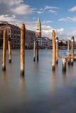 Πύργος κουδουνιών του σημαδιού του ST, Βενετία Στοκ φωτογραφία με δικαίωμα ελεύθερης χρήσης