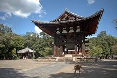 Πύργος κουδουνιών, Νάρα, Ιαπωνία στοκ φωτογραφίες