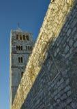 Πύργος κουδουνιών στο φως πρωινού Στοκ Φωτογραφία