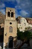 Πύργος κουδουνιών στο Monemvasia, Ελλάδα Στοκ Εικόνες