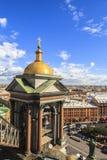 Πύργος κουδουνιών του καθεδρικού ναού Αγίου Isaac, Άγιος Πετρούπολη στοκ εικόνες