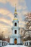 Πύργος κουδουνιών του ναυτικού καθεδρικού ναού του ST Nicholas Στοκ εικόνα με δικαίωμα ελεύθερης χρήσης