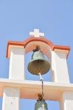 Πύργος κουδουνιών του παλαιού churche σε Χερσόνησο Στοκ Εικόνα