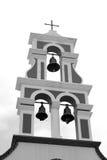 Πύργος κουδουνιών του παλαιού churche σε Piskopiano Στοκ εικόνες με δικαίωμα ελεύθερης χρήσης