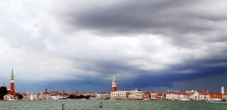Πύργος κουδουνιών του σημαδιού του ST και του νησιού του ST George Στοκ εικόνα με δικαίωμα ελεύθερης χρήσης