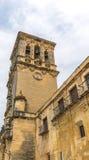 Πύργος κουδουνιών του Mudejar Iglesia de Σάντα Μαρία Στοκ Εικόνες