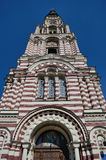 Πύργος κουδουνιών Annunciation του καθεδρικού ναού σε Kharkov Στοκ Εικόνες