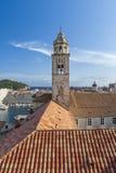 πύργος κουδουνιών dubrovnik Στοκ φωτογραφία με δικαίωμα ελεύθερης χρήσης