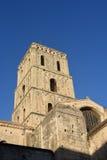 Πύργος κουδουνιών Romanesque Cathedrale Στοκ Εικόνες