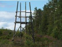 Πύργος κυνηγιού Στοκ εικόνα με δικαίωμα ελεύθερης χρήσης