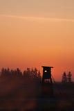 πύργος κυνηγών Στοκ φωτογραφίες με δικαίωμα ελεύθερης χρήσης