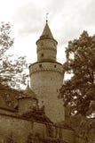 Πύργος μαγισσών σε Idstein Στοκ εικόνες με δικαίωμα ελεύθερης χρήσης
