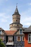 Πύργος μαγισσών σε Idstein Στοκ φωτογραφία με δικαίωμα ελεύθερης χρήσης