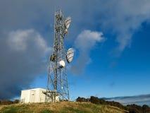 Πύργος μετάδοσης. Στοκ εικόνες με δικαίωμα ελεύθερης χρήσης