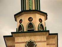 πύργος μουσουλμανικών τεμενών Στοκ φωτογραφία με δικαίωμα ελεύθερης χρήσης