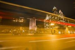 Πύργος Μπακού κοριτσιών τη νύχτα Στοκ εικόνες με δικαίωμα ελεύθερης χρήσης