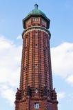 Πύργος νερού στο πάρκο Jungfernheide στο Βερολίνο, Γερμανία Στοκ Φωτογραφία