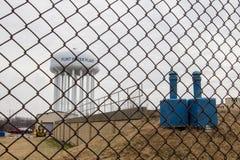 Πύργος νερού του Μίτσιγκαν πυρόλιθου Στοκ φωτογραφία με δικαίωμα ελεύθερης χρήσης