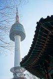Πύργος Ν Σεούλ, Σεούλ, Νότια Κορέα στοκ εικόνα με δικαίωμα ελεύθερης χρήσης