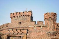 πύργος οχυρώσεων Κ κατασκευής kaliningrad nigsberg wrangel Kaliningrad Στοκ εικόνα με δικαίωμα ελεύθερης χρήσης