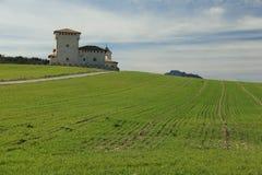 Πύργος-παλάτι του Varona Στοκ φωτογραφία με δικαίωμα ελεύθερης χρήσης