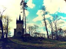 Πύργος παρατήρησης τον Απρίλιο Στοκ εικόνα με δικαίωμα ελεύθερης χρήσης
