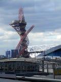 Πύργος παρατήρησης τροχιάς Mittal Arcelor Στοκ φωτογραφία με δικαίωμα ελεύθερης χρήσης