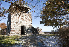 πύργος πετρών παρατήρησης Στοκ εικόνα με δικαίωμα ελεύθερης χρήσης