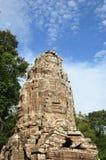 Πύργος προσώπου του ναού TA Prohm στην περιοχή Angkor, Καμπότζη Στοκ φωτογραφίες με δικαίωμα ελεύθερης χρήσης