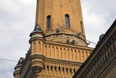 Πύργος πυροσβεστών στη Μόσχα, χτισμένη το 1880 ES Στοκ Φωτογραφίες