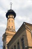 Πύργος πυροσβεστών στη Μόσχα, χτισμένη το 1880 ES Στοκ Φωτογραφία