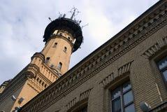 Πύργος πυροσβεστών στη Μόσχα, χτισμένη το 1880 ES Στοκ εικόνα με δικαίωμα ελεύθερης χρήσης