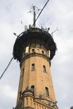 Πύργος πυροσβεστών στη Μόσχα, χτισμένη το 1880 ES Στοκ φωτογραφία με δικαίωμα ελεύθερης χρήσης