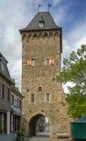 Πύργος πυλών σε κακό Munstereifel, Γερμανία Στοκ Φωτογραφία