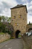 Πύργος πυλών σε κακό Munstereifel, Γερμανία Στοκ εικόνα με δικαίωμα ελεύθερης χρήσης
