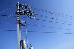 πύργος πόλων καλωδίων Στοκ φωτογραφία με δικαίωμα ελεύθερης χρήσης