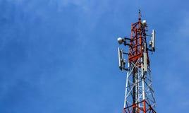 πύργος ραδιοφωνικής μετάδοσης στοκ εικόνες