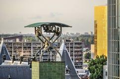 Πύργος ρολογιών ανταλλαγής στοκ φωτογραφίες με δικαίωμα ελεύθερης χρήσης