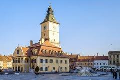 Πύργος ρολογιών στο κέντρο Brasov το απόγευμα 2 στοκ φωτογραφία με δικαίωμα ελεύθερης χρήσης