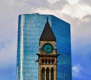 Πύργος ρολογιών στο Τορόντο Στοκ Εικόνα