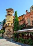 Πύργος ρολογιών του θεάτρου Rezo Gabriadze στοκ φωτογραφίες με δικαίωμα ελεύθερης χρήσης
