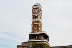 Πύργος ρολογιών Bricked του πάρκου Shiroi Koibito σε Sapporo στο Hokkaido, Ιαπωνία Στοκ εικόνα με δικαίωμα ελεύθερης χρήσης