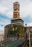 Πύργος ρολογιών Bricked του πάρκου Shiroi Koibito σε Sapporo στο Hokkaido, Ιαπωνία Στοκ εικόνες με δικαίωμα ελεύθερης χρήσης