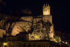 Πύργος ρολογιών Modica - κοιλάδα Orologio Torre Στοκ Φωτογραφίες
