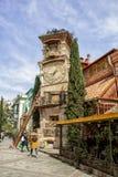 Πύργος ρολογιών Rezo Gabriadze στο Tbilisi Γεωργία στοκ φωτογραφίες με δικαίωμα ελεύθερης χρήσης