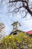 Πύργος ρολογιών Sapporo το φθινόπωρο Στοκ φωτογραφία με δικαίωμα ελεύθερης χρήσης