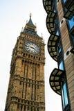 Πύργος ρολογιών κουδουνιών Big Ben, Λονδίνο UK Στοκ Εικόνα