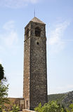 Πύργος ρολογιών σε Pocitelj η χορήγηση του συνδετήρα της Βοσνίας περιοχών περιοχής που χρωματίστηκε η Ερζεγοβίνη περιλαμβάνει σημ Στοκ Φωτογραφίες