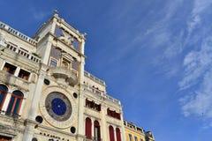 Πύργος ρολογιών σημαδιών Αγίου Στοκ εικόνες με δικαίωμα ελεύθερης χρήσης